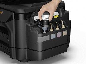 راحتی شارژ کارتریج پرینتر های مخزن دار جوهر افشان
